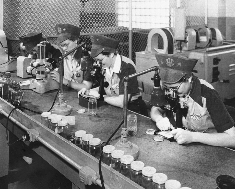 americans sacrifice women factory