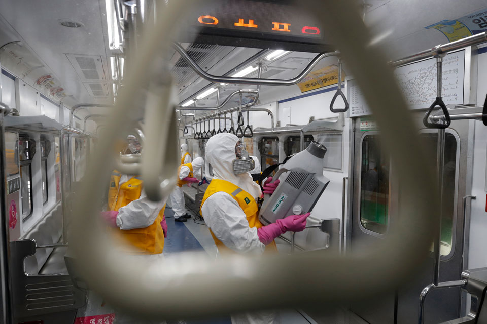 coronavirus pandemic korea