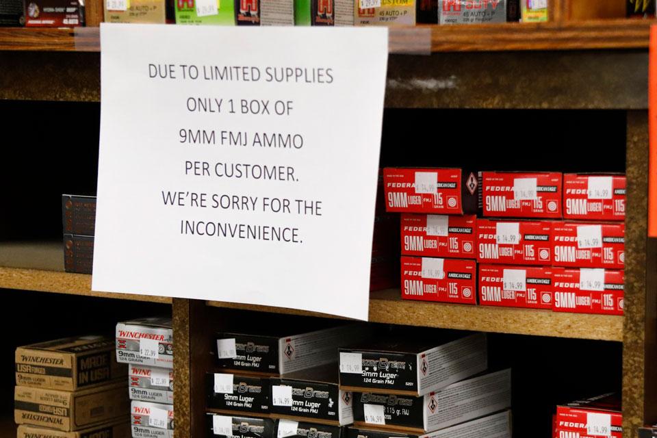 gun sales ammo