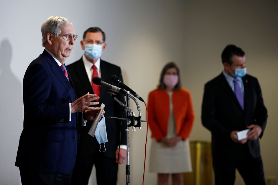 house new stimulus package mcconnell
