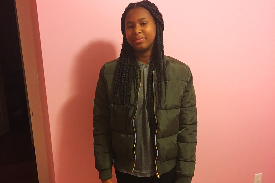 Ahmayla Brightmon convinced her father to help her paint her room pink, one of the many upgrades Leonard Brightmon has made on the home he purchased with the help of the African American Alliance for Homeownership.