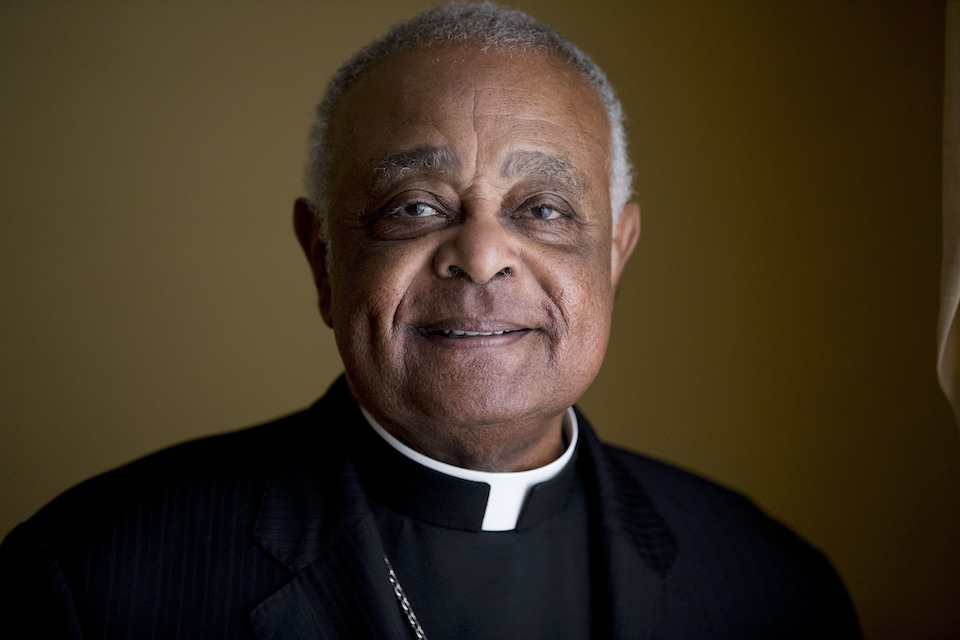 Washington D.C. Archbishop Wilton Gregory posed for a portrait following mass at St. Augustine Church in Washington, Sunday, June 2, 2019. Pope Francis has named 13 new cardinals, including Washington D.C. Archbishop Wilton Gregory, who would become the first Black U.S. prelate to earn the coveted red cap. In a surprise announcement from his studio window to faithful standing below in St. Peter's Square, Sunday, Oct. 25, 2020, Francis said the churchmen would be elevated to a cardinal's rank in a ceremony on Nov. 28. (AP Photo/Andrew Harnik, File)