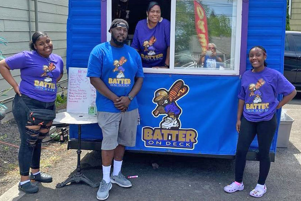 Isaiah Bostic's Batter on Deck food truck will be one of this year's highlighted businesses for Black Restaurant Week- Northwest.