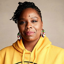 "In this Jan. 27, 2019, file photo, Patrisse Cullors poses for a portrait to promote a film during the Sundance Film Festival in Park City, Utah. A financial snapshot shared exclusively with The Associated Press shows the Black Lives Matter Global Network Foundation took in just over $90 million last year. Cullors, BLM co-founder, told the AP that the foundation is focused on a ""need to reinvest into Black communities."" (Photo by Taylor Jewell/Invision/AP, File)"