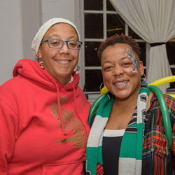 (l to r) Imani Muhammad and Paula Byrd of Books Not Bars OR and Y.O.U.th will speak about barriers in Black literacy during the March to Literacy virtual event March 13.