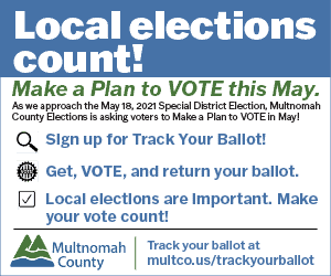 Multnomah County Elections May 2021