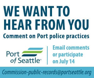 Port of Seattle Police We Want to Hear