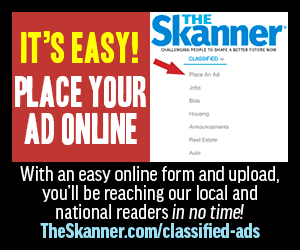 The Skanner Place Ad Online
