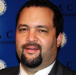 Ben Jealous, the chair of the Southern Engagement Foundation talked about environmental justice and climate change in the Black community during a recent panel discussion at Coppin State University, Baltimore, Md. (U.S. Black Chambers, Inc.)