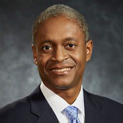 Count Raphael Bostic, president of the Federal Reserve Bank of Atlanta