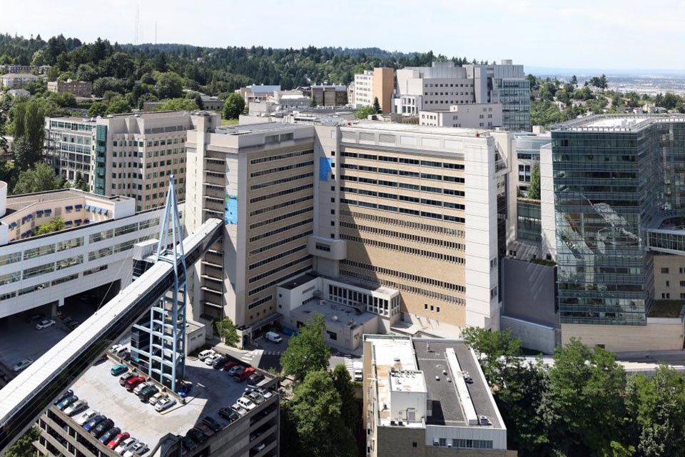 Oregon Health and Science University Marquam Hill campus photo by Cacophony