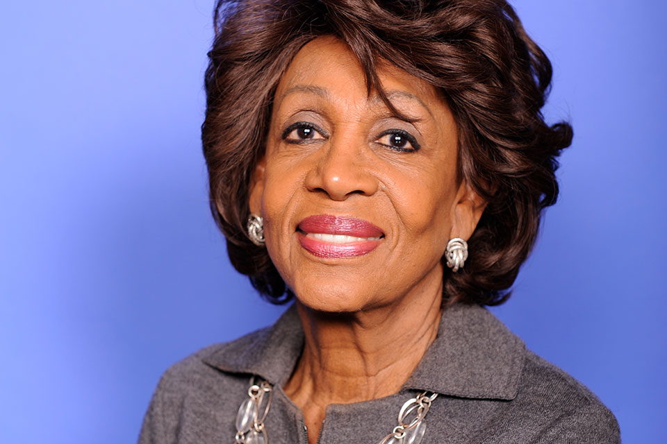 Maxine Waters Slams Trump Failure to Protect Americans from Virus