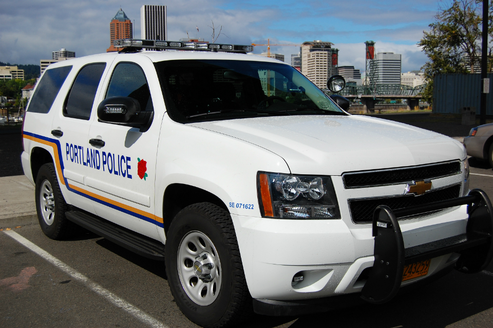 Portland police vehicle (Photo Courtesy: Wikimedia Commons)