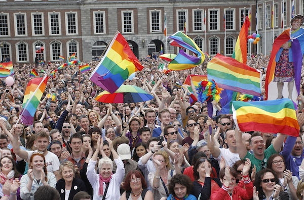 Yes supporters await result of Irish same sex marriage vote