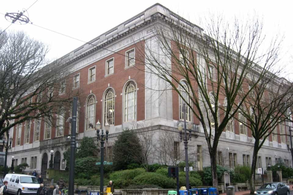 Multnomah County Central Library