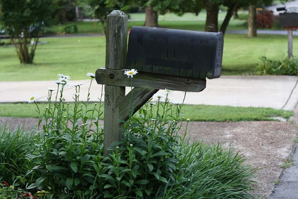 mailbox at the street