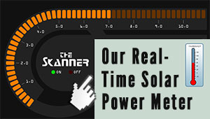 The Skanner Solar Power Meter